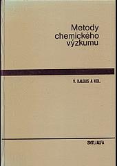 Metody chemického výzkumu obálka knihy