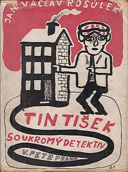 Tintíšek, soukromý detektiv obálka knihy