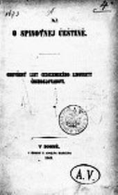 O spisovnej češtině obálka knihy