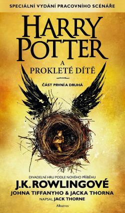 Harry Potter a prokleté dítě obálka knihy