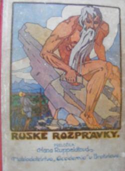 Ruské rozprávky obálka knihy