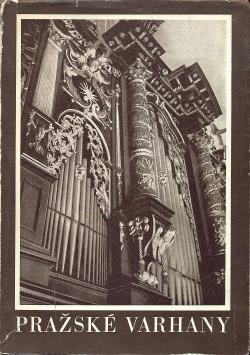 Pražské varhany obálka knihy