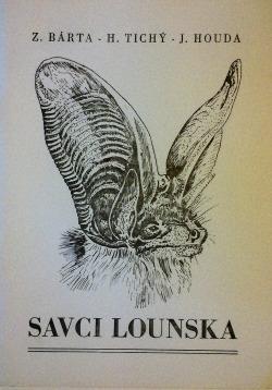 Savci Lounska obálka knihy