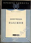Dalibor obálka knihy