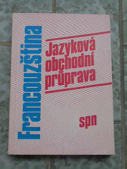 Francouzština Jazyková obchodní průprava obálka knihy