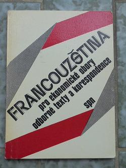 Francouzština pro ekonomické obory obálka knihy