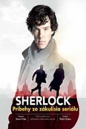 Sherlock Príbehy zo zákulisia seriálu obálka knihy