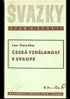 Česká vzdělanost v Evropě