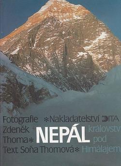 Nepál království pod Himalájem obálka knihy