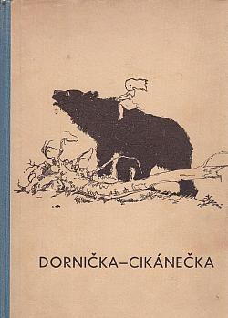 Dornička - cikánečka obálka knihy