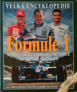 Velká encyklopedie Formule 1 obálka knihy