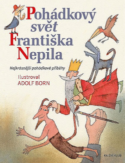 Pohádkový svět Františka Nepila obálka knihy