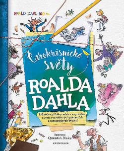 Čarokrásnické světy Roalda Dahla obálka knihy