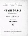 Čtyři ďábli a jiné novely