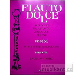 Škola hry na altovou flétnu 1.díl obálka knihy
