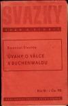 Úvahy o válce v Buchenwaldu