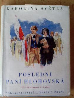 Poslední paní Hlohovská obálka knihy