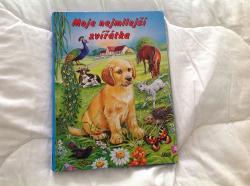 Moje nejmilejší zvířátka obálka knihy