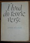 Úvod do teorie verše