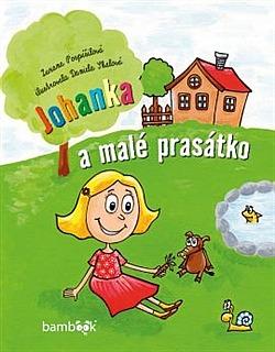 Johanka a malé prasátko Obálka knihy