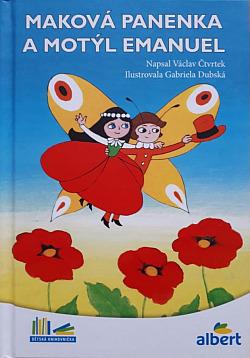 Maková panenka a motýl Emanuel obálka knihy