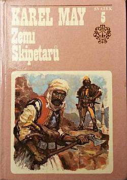 Zemí Škipetarů obálka knihy