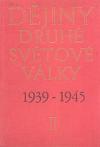 Dějiny druhé světové války 1939-1945. Svazek 2