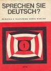 Sprechen Sie Deutsch? 1 - Příručka k televiznímu kursu němčiny obálka knihy