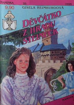 Děvčátko z hradu Steineck obálka knihy