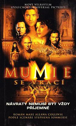 Mumie se vrací obálka knihy