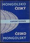 Mongolsko-český a česko-mongolský kapesní slovník