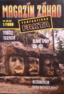 Magazín záhad 1/1999 - Fantastická fakta obálka knihy