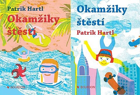 Kniha Okamžiky štěstí (Patrik Hartl)
