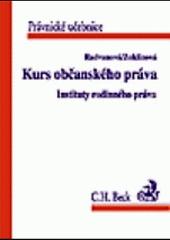Kurs občanského práva obálka knihy