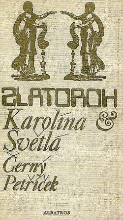 Černý Petříček obálka knihy