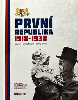 První republika 1918-1938 obálka knihy