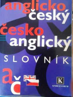 Anglicko-český česko-anglický slovník obálka knihy