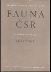 Fauna ČSR. Zlatěnky - Chrysidoidea