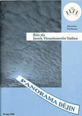 Říše zla Josefa Vissarionoviče Stalina obálka knihy