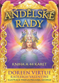 Andělské rady obálka knihy