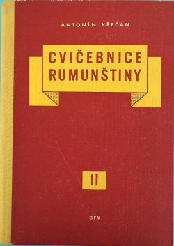 Cvičebnice rumunštiny II. díl obálka knihy