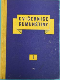 Cvičebnice rumunštiny I. díl obálka knihy