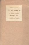 Emile Verhaeren a jeho místo v dějinách volného verše