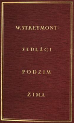 Sedláci I, Podzim obálka knihy