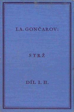 Strž, díl I. a II. obálka knihy
