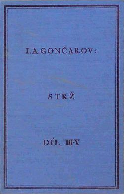 Strž, díl III., IV., V. obálka knihy