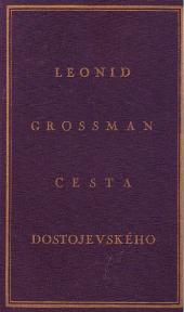 Cesta Dostojevského obálka knihy