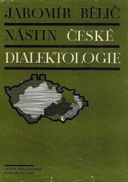 Nástin české dialektologie obálka knihy