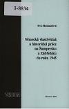 Německá vlastivědná a historická práce na Šumpersku a Zábřežsku do roku 1945
