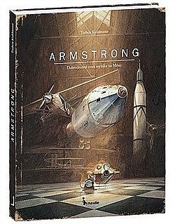 Armstrong - Dobrodružná cesta myšáka na Měsíc obálka knihy
